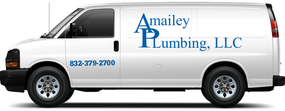 Amailey Plumbing Service Vehicle